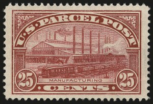 Sale Number 967, Lot Number 5179, Postal Note, Parcel Post (PN, Q, JQ, QE)25c Parcel Post (Q9), 25c Parcel Post (Q9)