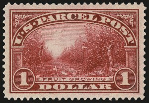 Sale Number 967, Lot Number 5187, Postal Note, Parcel Post (PN, Q, JQ, QE)$1.00 Parcel Post (Q12), $1.00 Parcel Post (Q12)