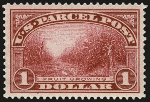 Sale Number 967, Lot Number 5188, Postal Note, Parcel Post (PN, Q, JQ, QE)$1.00 Parcel Post (Q12), $1.00 Parcel Post (Q12)