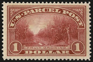 Sale Number 967, Lot Number 5189, Postal Note, Parcel Post (PN, Q, JQ, QE)$1.00 Parcel Post (Q12), $1.00 Parcel Post (Q12)