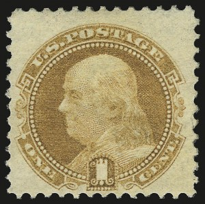 Sale Number 968, Lot Number 152, 1869 Pictorial Issue - Complete Set Without Grills (Scott 112b-122a)1c Buff, Without Grill (112b), 1c Buff, Without Grill (112b)
