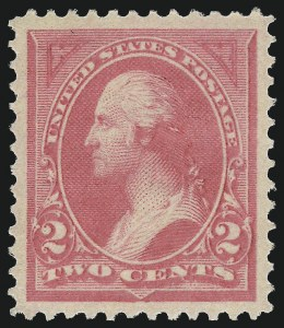 Sale Number 968A, Lot Number 297, 1894 Unwatermarked Bureau Issue (Scott 246-263)2c Pink, Ty. I (248), 2c Pink, Ty. I (248)