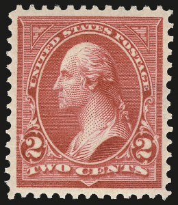 Sale Number 968A, Lot Number 339, 1898 Bureau Change of Colors (Scott 279-284)2c Red, Ty. IV (279B), 2c Red, Ty. IV (279B)
