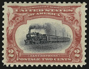 Sale Number 968A, Lot Number 359, 1901 Pan-American Issue (Scott 294-299)2c Pan-American (295), 2c Pan-American (295)