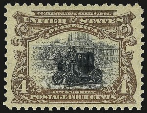Sale Number 968A, Lot Number 360, 1901 Pan-American Issue (Scott 294-299)4c Pan-American (296), 4c Pan-American (296)