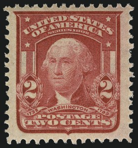 Sale Number 968B, Lot Number 401, 1902-08 Issue (Scott 319-322)2c Carmine, Ty. I (319), 2c Carmine, Ty. I (319)