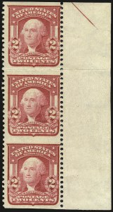 Sale Number 968B, Lot Number 404, 1902-08 Issue (Scott 319-322)2c Carmine, Ty. I, Vertical Pair, Imperforate Horizontally (319d), 2c Carmine, Ty. I, Vertical Pair, Imperforate Horizontally (319d)