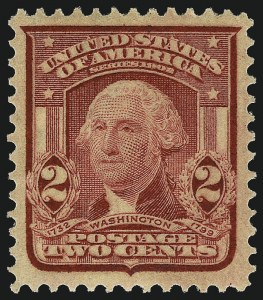 Sale Number 968B, Lot Number 406, 1902-08 Issue (Scott 319-322)2c Lake, Ty. II (319f), 2c Lake, Ty. II (319f)