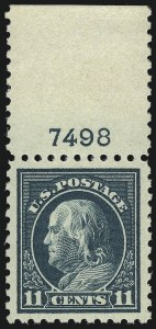 Sale Number 968B, Lot Number 620, 1916-17 Issues (Scott 461-480)11c Dark Green (473), 11c Dark Green (473)