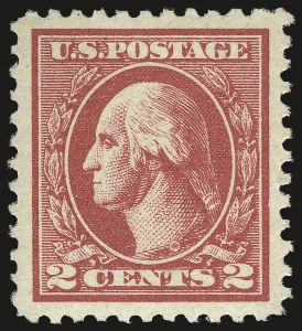 Sale Number 968B, Lot Number 693, 1918-20 Offset Printing Issues (Scott 525-536)2c Carmine, Ty. V (527), 2c Carmine, Ty. V (527)