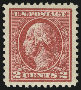 Sale Number 968B, Lot Number 695, 1918-20 Offset Printing Issues (Scott 525-536)2c Carmine, Ty. VII (528B), 2c Carmine, Ty. VII (528B)
