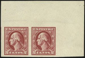 Sale Number 968B, Lot Number 700, 1918-20 Offset Printing Issues (Scott 525-536)2c Carmine Rose, Ty. IV, Imperforate (532), 2c Carmine Rose, Ty. IV, Imperforate (532)