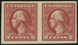 Sale Number 968B, Lot Number 707, 1918-20 Offset Printing Issues (Scott 525-536)2c Carmine, Ty. VII, Imperforate (534B), 2c Carmine, Ty. VII, Imperforate (534B)