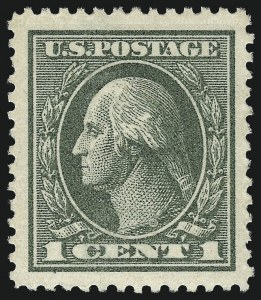 Sale Number 968B, Lot Number 710, 1918-20 Offset Printing Issues (Scott 525-536)1c Gray Green (536), 1c Gray Green (536)