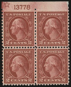 Sale Number 968B, Lot Number 715, 1919-20 Issues (Scott 537-550)2c Carmine Rose, Ty. III, Rotary Perf 11 x 10 (540), 2c Carmine Rose, Ty. III, Rotary Perf 11 x 10 (540)