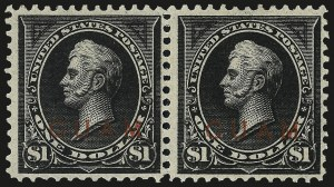 Sale Number 969, Lot Number 1042, Guam (Special Printings)1900, $1.00 Black, Ty. II (13), 1900, $1.00 Black, Ty. II (13)