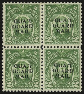 Sale Number 969, Lot Number 1106, Guam (Guard Mail)1930, 2c Green, Guard Mail (M1), 1930, 2c Green, Guard Mail (M1)