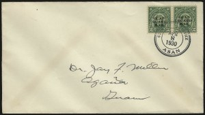 Sale Number 969, Lot Number 1108, Guam (Guard Mail)1930, 2c Green, Guard Mail (M1), 1930, 2c Green, Guard Mail (M1)