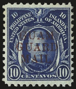 "Sale Number 969, Lot Number 1129, Guam (Guard Mail)1930, 2c Green ""GRAUD"" Mail and Guard ""MIAL"" (M7a, M7b ), 1930, 2c Green ""GRAUD"" Mail and Guard ""MIAL"" (M7a, M7b )"