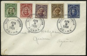 "Sale Number 969, Lot Number 1130, Guam (Guard Mail)1930, 2c Green, Guard ""MIAL"" (M7b), 1930, 2c Green, Guard ""MIAL"" (M7b)"