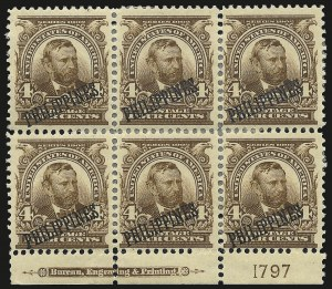 Sale Number 969, Lot Number 1210, Philippines (226-240)1903, 4c Brown (229), 1903, 4c Brown (229)