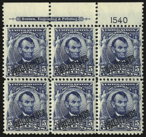 Sale Number 969, Lot Number 1213, Philippines (226-240)1903, 1c-5c Overprints (226-227, 230), 1903, 1c-5c Overprints (226-227, 230)