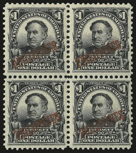 Sale Number 969, Lot Number 1222, Philippines (226-240)1903, $1.00 Black (237), 1903, $1.00 Black (237)