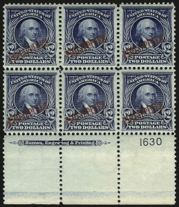Sale Number 969, Lot Number 1227, Philippines (226-240)1903, $2.00 Dark Blue (238), 1903, $2.00 Dark Blue (238)