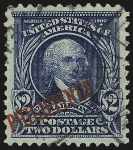 Sale Number 969, Lot Number 1228, Philippines (226-240)1903, $2.00 Dark Blue (238), 1903, $2.00 Dark Blue (238)