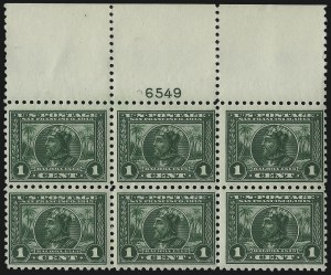 Sale Number 971, Lot Number 1748, 1c Perf 10 Panama-Pacific Issue (Scott 401)1c Panama-Pacific, Perf 10 (401), 1c Panama-Pacific, Perf 10 (401)