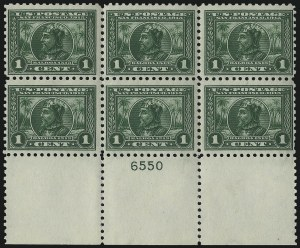 Sale Number 971, Lot Number 1750, 1c Perf 10 Panama-Pacific Issue (Scott 401)1c Panama-Pacific, Perf 10 (401), 1c Panama-Pacific, Perf 10 (401)