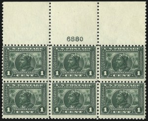 Sale Number 971, Lot Number 1756, 1c Perf 10 Panama-Pacific Issue (Scott 401)1c Panama-Pacific, Perf 10 (401), 1c Panama-Pacific, Perf 10 (401)