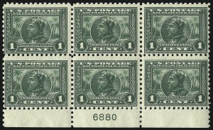 Sale Number 971, Lot Number 1757, 1c Perf 10 Panama-Pacific Issue (Scott 401)1c Panama-Pacific, Perf 10 (401), 1c Panama-Pacific, Perf 10 (401)