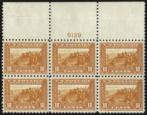 Sale Number 971, Lot Number 1814, 10c Perf 10 Panama-Pacific Issue (Scott 404)10c Panama-Pacific, Perf 10 (404), 10c Panama-Pacific, Perf 10 (404)