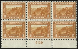 Sale Number 971, Lot Number 1815, 10c Perf 10 Panama-Pacific Issue (Scott 404)10c Panama-Pacific, Perf 10 (404), 10c Panama-Pacific, Perf 10 (404)