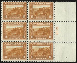 Sale Number 971, Lot Number 1817, 10c Perf 10 Panama-Pacific Issue (Scott 404)10c Panama-Pacific, Perf 10 (404), 10c Panama-Pacific, Perf 10 (404)