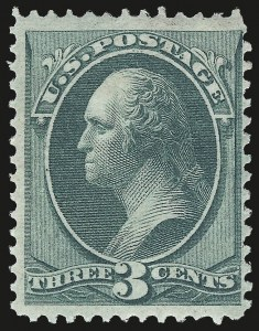 Sale Number 972, Lot Number 3150, 1870-71 National Bank Note Co. Ungrilled Issue (Scott 145-155)3c Green (147), 3c Green (147)