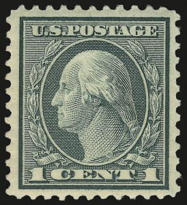 Sale Number 972, Lot Number 3374, 1918-20 and Later Issues (Scott 525-679)1c Green, Rotary (545), 1c Green, Rotary (545)
