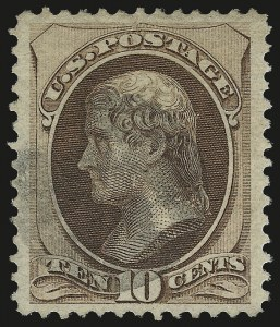 Sale Number 973, Lot Number 132, 1870-79 Bank Note Issues10c Brown, Grill (139 var), 10c Brown, Grill (139 var)