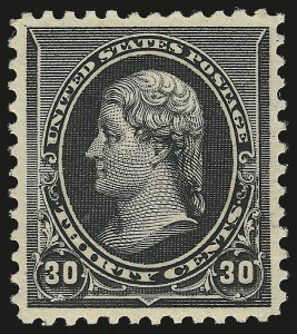 Sale Number 973, Lot Number 152, 1890-93 Issue30c Black (228), 30c Black (228)