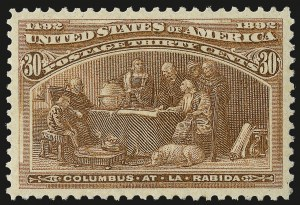 Sale Number 973, Lot Number 156, Columbian Issue30c Columbian (239), 30c Columbian (239)
