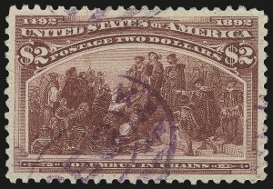 Sale Number 973, Lot Number 158, Columbian Issue$2.00 Columbian (242), $2.00 Columbian (242)
