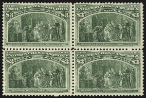 Sale Number 973, Lot Number 159, Columbian Issue$3.00 Columbian (243), $3.00 Columbian (243)