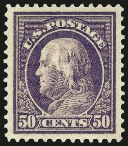 Sale Number 973, Lot Number 201, Later Issues (Scott 389 thru 480)50c Violet (421), 50c Violet (421)