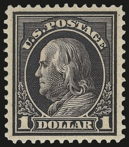 Sale Number 973, Lot Number 202, Later Issues (Scott 389 thru 480)$1.00 Violet Brown (423), $1.00 Violet Brown (423)