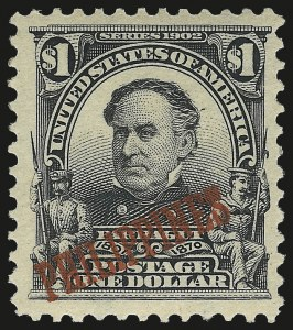 Sale Number 974, Lot Number 851, Philippines1903, $1.00 Black (237), 1903, $1.00 Black (237)