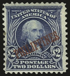 Sale Number 974, Lot Number 852, Philippines1903, $2.00 Dark Blue (238), 1903, $2.00 Dark Blue (238)