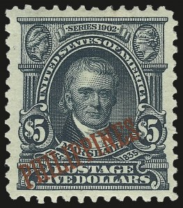 Sale Number 974, Lot Number 853, Philippines1903, $5.00 Dark Green (239), 1903, $5.00 Dark Green (239)