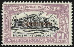 "Sale Number 974, Lot Number 858, Philippines1926, 2c-1p Regular Issue, ""Specimen"" Overprints (319S-325S), 1926, 2c-1p Regular Issue, ""Specimen"" Overprints (319S-325S)"