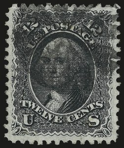 Sale Number 975, Lot Number 1301, 1867-68 Grilled Issue (Scott 79-101), including the 10c Z Grill12c Black, E. Grill (90), 12c Black, E. Grill (90)